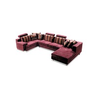 modern soft wooden settee for home
