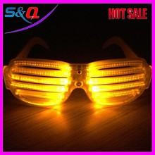 Most Popular LED light eyeglasses Supplies Flashing Party LED Glasses 2015