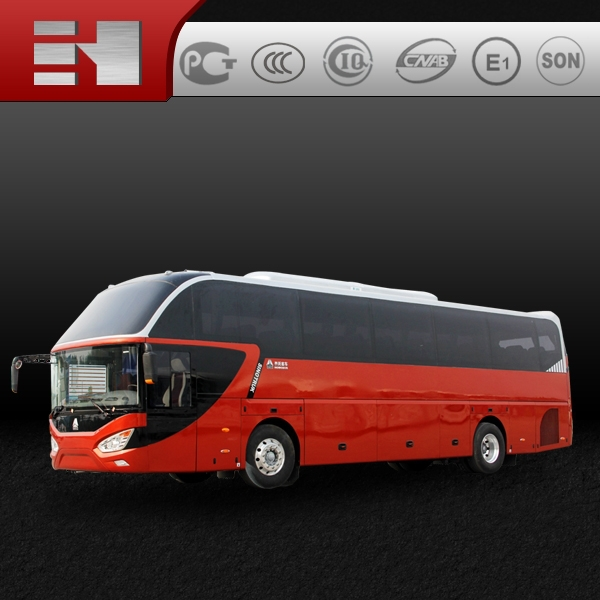 HOWO Tour Bus with man engine hot sale in Asia, Africa and South America