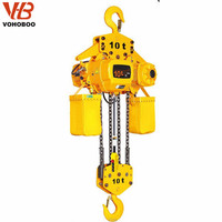 15 ton crane electric chain hoist with hook