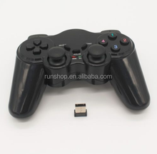 2.4GHz USB Wireless PC Gamepad Double Shock Joystick Joypad Wireless PS4 Controller For PC