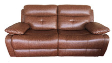 Modern leather sofa living room sofa electric control recliner leather sofa