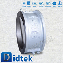 30 Years Valve Manufacturer Wafer duo check valve