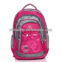 Customized promotional trolley children school bag