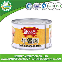 sky dragon brand canned pork luncheon meat 397grams