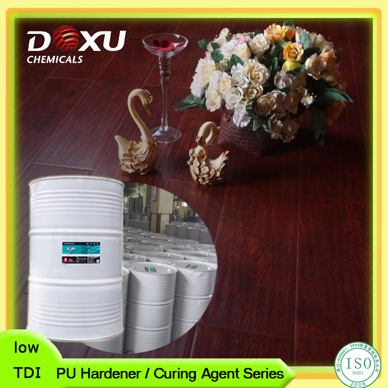 Good Transparency PU Wood Paints Trimer Curing Agent