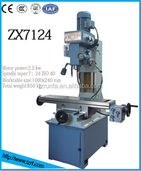 Small Milling Machine Tool ZX7124