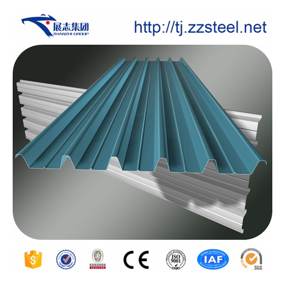 Prime quality best prices insulated galvalume color corrugated metal roofing sheets
