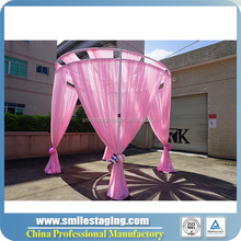 RK Top quality round pipe and drape stand for wedding hall decorations