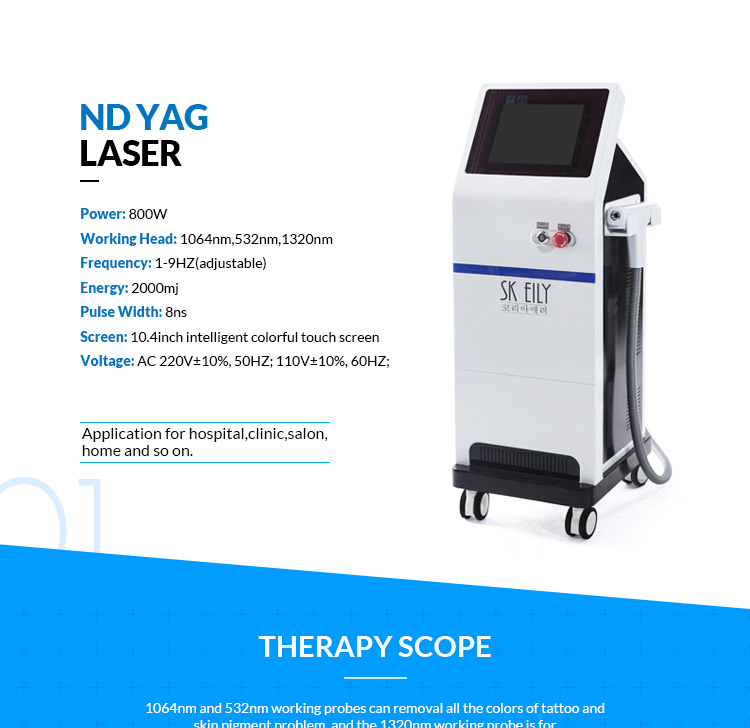 nd yag laser tattoo machine for tattoo removal