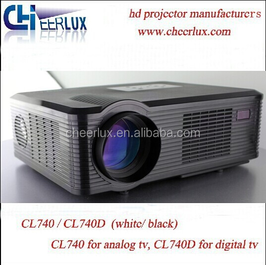 Good Quality Led Projector With 200 Inch Big Screen 2 Speakers 2400 Lumen