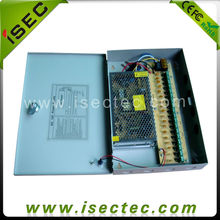 18 ways 10A CCTV central power supply box, cctv Switching Power Supply
