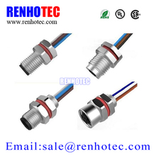 4 pin male female M5 cable circular connectors