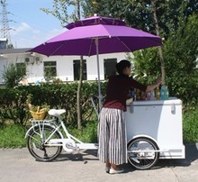 new design China manufacture ice cream kiosk for sale