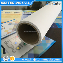260gsm Waterproof Glossy Digital Printing Polyester Latex Canvas for HP L28500 Latex Printers