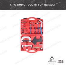 17 Unid <span class=keywords><strong>herramienta</strong></span> automotriz, timing Tool Set kit <span class=keywords><strong>de</strong></span> herramientas para <span class=keywords><strong>Renault</strong></span> (VT01198)