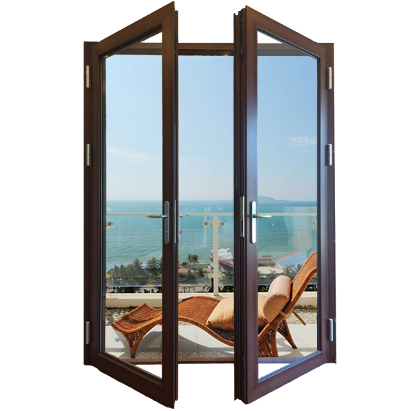 Good heat reduction glass lowes french doors exterior for Inward opening french doors