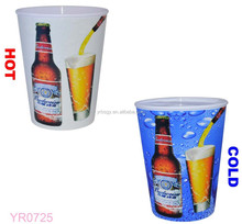 Magic!!!!! Factory custom pp plastic cocktail cup/plastic pudding cup