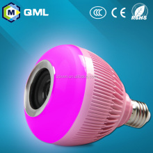 6w E27 E26 RGBW music active led bulbs AC85-265V