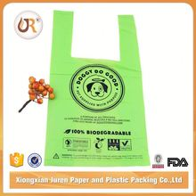 Eco Friendly 100% Biodegradable Plastic Carry Bags Design