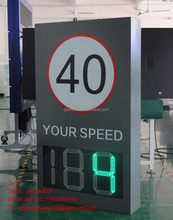 Factory LED Radar Speed Limit Sign Speed Tester Display