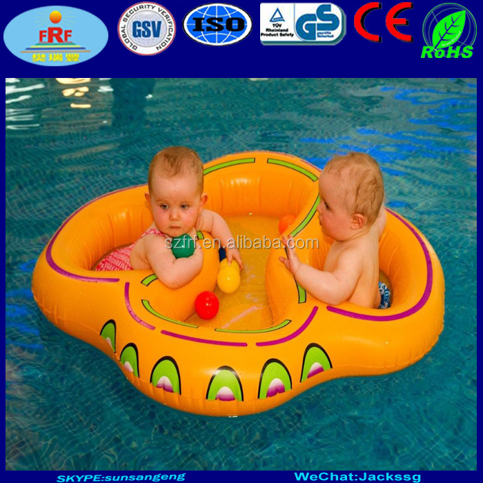 Double Float Inflatable Twin Swim Ring