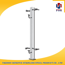 outdoor stainless steel banister iron pipe railing