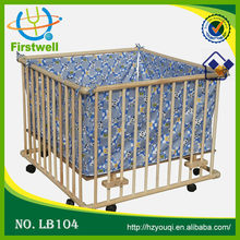 2015 HOT SALESindoor kids play area baby cots