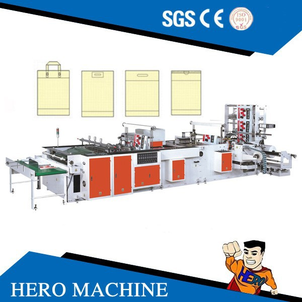 Automic three layer pe film blowing machine stretch film pallet machine