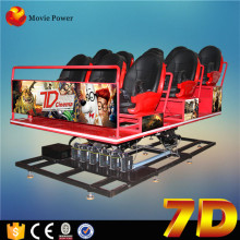 7d simulator arcade racing car game machine with 4d motion chair