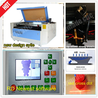 CO2 laser engraving and cutting machine/jeans co2 laser engraving and cutting machine price 100w