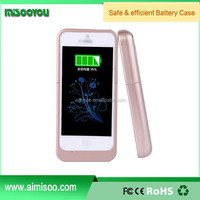 Wholesale external 2200mah multi-funtional battery replacement case for iphone5