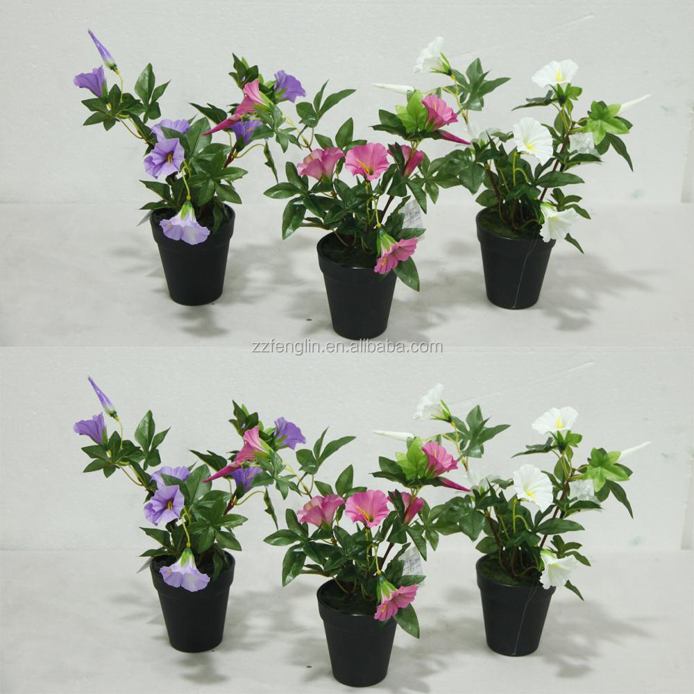 2015 new design mini pink gerbera daisy flower in decorative pot wholesale artificial simulation. Black Bedroom Furniture Sets. Home Design Ideas