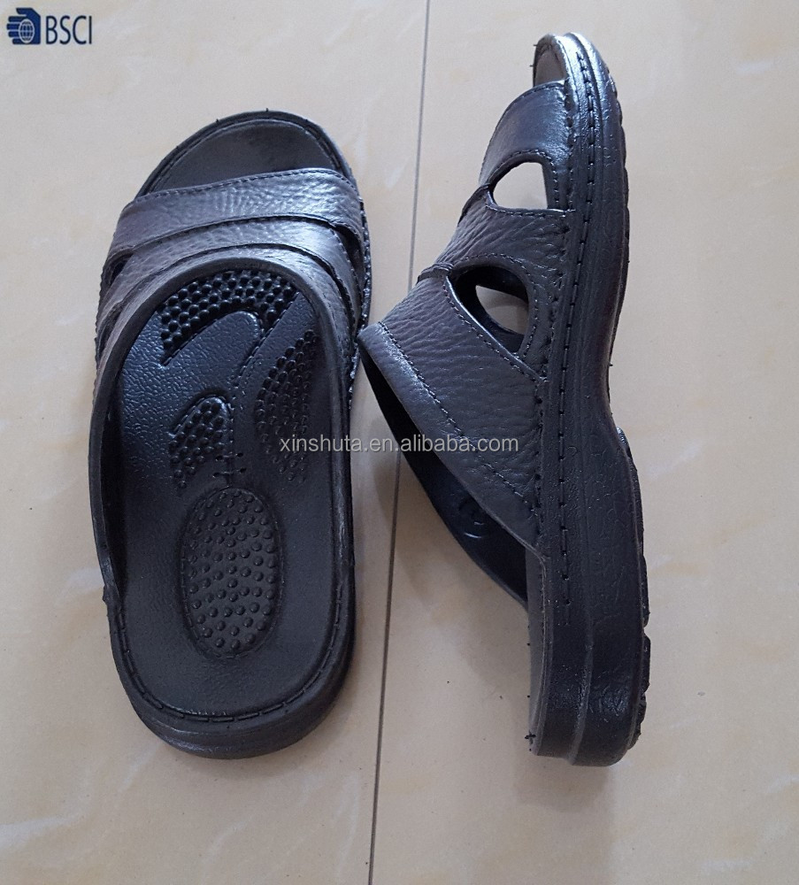 High quality Fashion style men airblowing PVC slipper <strong>sandals</strong>