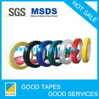 2016 hot sales!!Adhesive colorful PVC electrical insulation tape