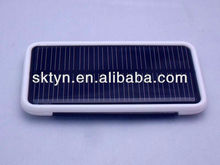 2012 New arrived mini solar panel charger with indicator CH03