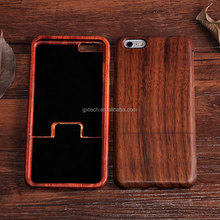 Wood phone case real nature blank wood phone Case cover for iPhone 6S