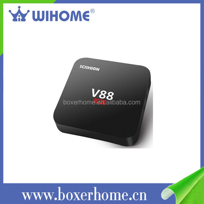 Rk3229 quad core bluetooth 2.1 iptv pro android tv box for philippines