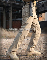 IX7 Version Shark Skin Soft Shell Tactical Combat Military Army Training Trousers Pants