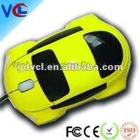 "2012 Fancy 3D Car Shape Mini Optical Mouse ISO""9001 Approved Computer Accessory Factory"