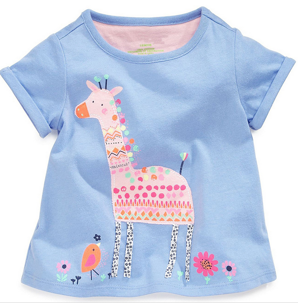Wholesale Cute Baby Girl Summer t shirts