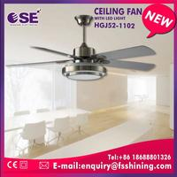 Matt sliver industrial best ceiling fan company with Remote control