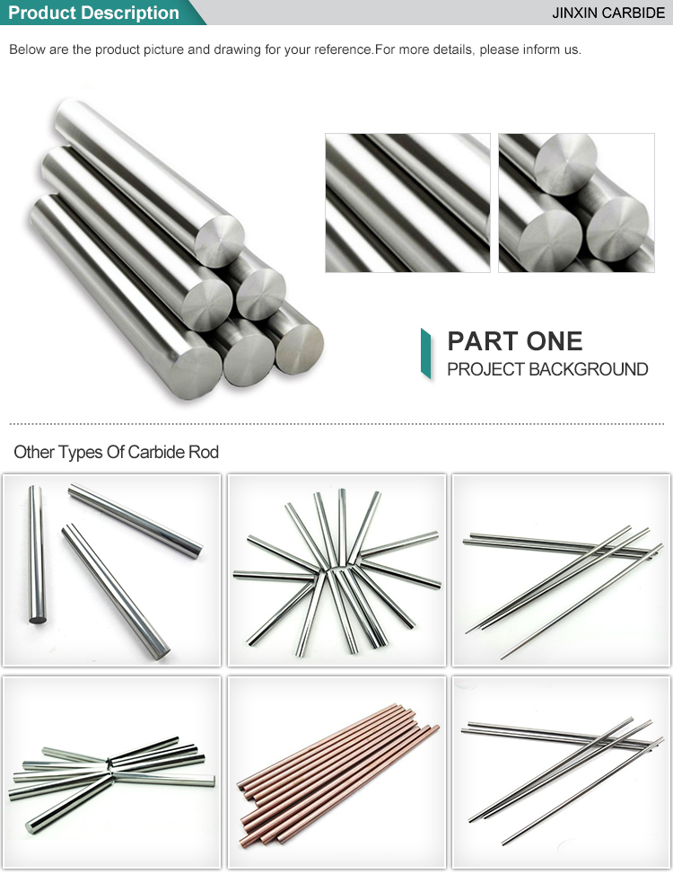 Tungsten carbide rods/ carbide rods/cemented carbide rods
