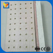 white fiber glass acoustic ceiling decorative wall board