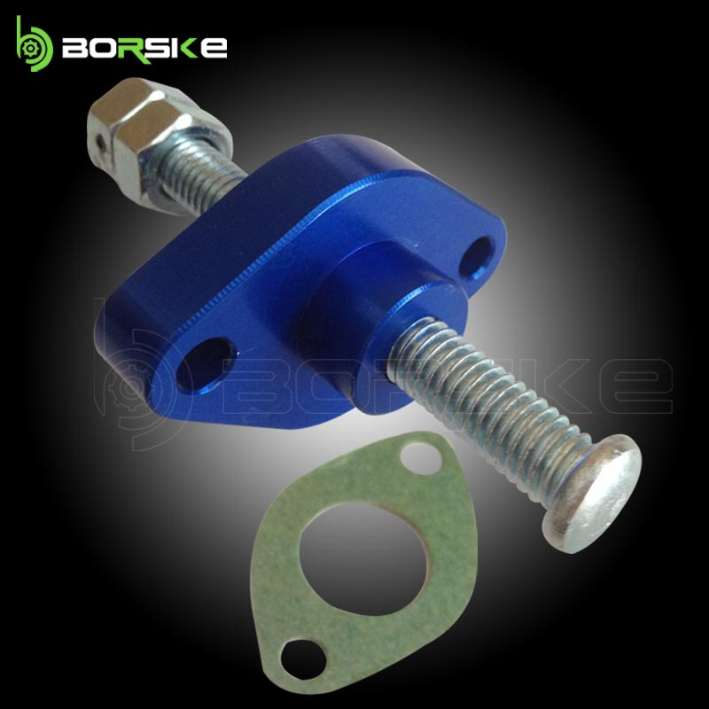 CNC Aluminium motorcycle chain tensioner, cam chain tensioners for CRU900 Manual Cam Chain Tensioners