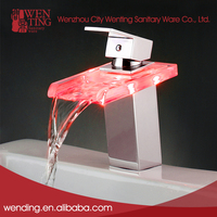 America style competitive price led bathroom faucet