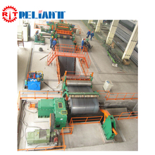 Heavy Plate Steel Silicon Sheet Cut To Length Line Slitting Line
