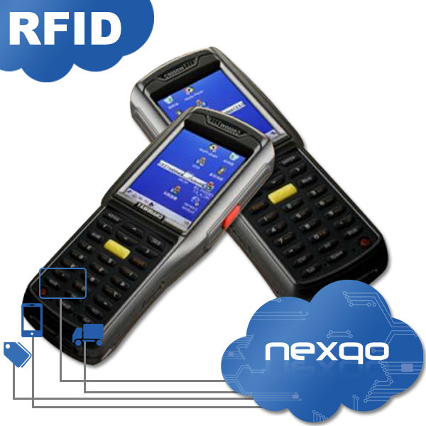 RFID handheld wireless smart card reader