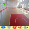 Basketball Sport Court Synthetic PVC Flooring or Vinyl Surfaces for Basketball Court Floor