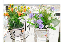 Practical Single-Tier Customized Wall Flower Pot Stand